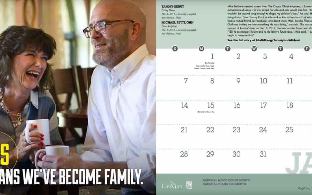 LifeGift Calendar