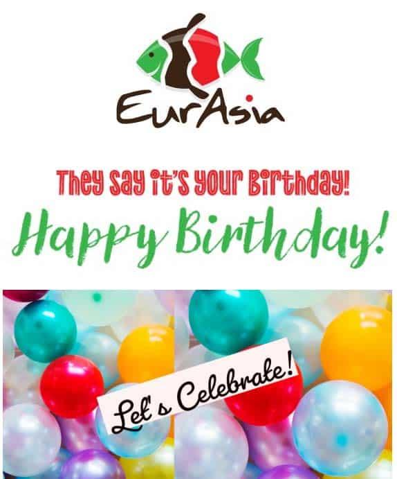 Eurasia Fusion Sushi Email Marketing