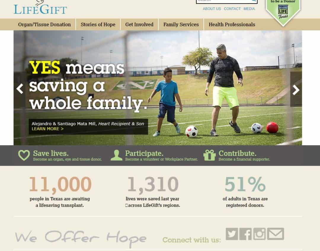 LifeGift Website