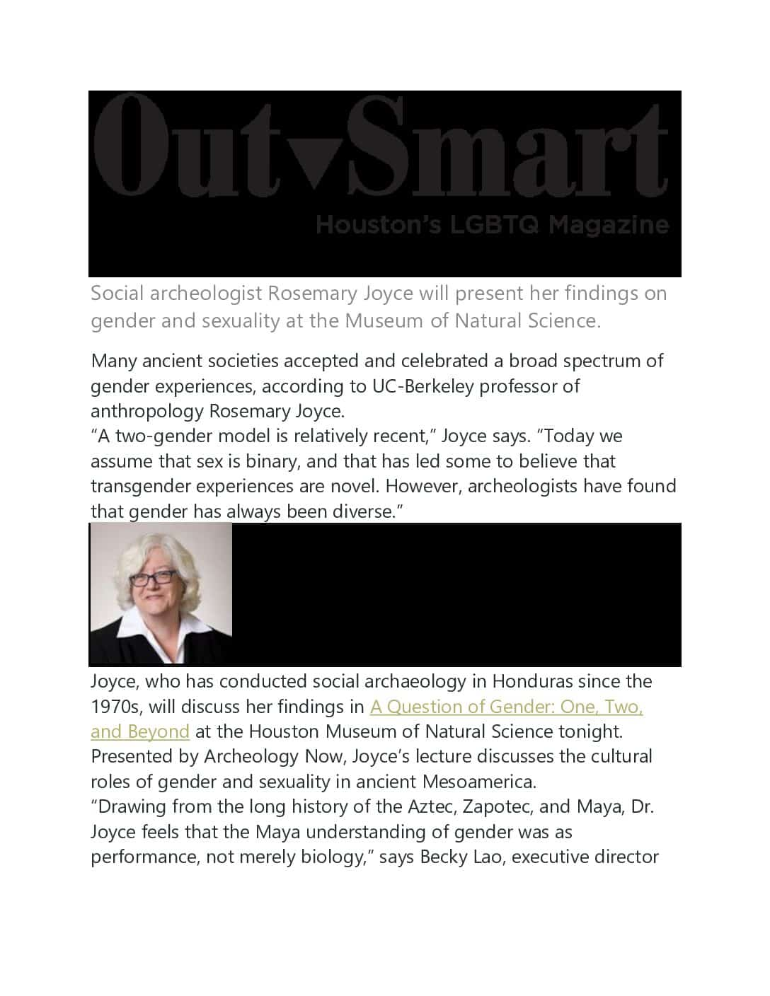 Archaeology Now – Outsmart Magazine