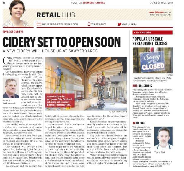 HBJ Print – City Orchard Opening